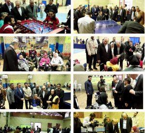 بازدید وزیر ورزش و جوانان از اسایشگاه کهریزک در مراسم تقدیر از مددجویان قهرمان