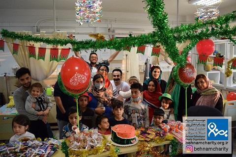 برپایی جشن شب یلدا به همت کتابخانه کودکان خیریه بهنام دهش پور