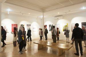 نمایشگاه «فراتر از محدودیت ها»/ نقاشی هنرمندان توان یاب