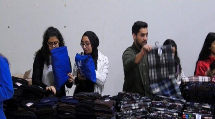 کمک خیریه اسلامی کانادا به بیخانمانها