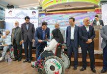 ۳ هزار ویلچر به عنوان هدیه مقام معظم رهبری تقدیم معلولان مناطق محروم می شود